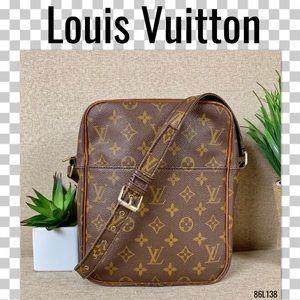 Louis Vuitton Crossbody Petit Marceau Monogram Bag